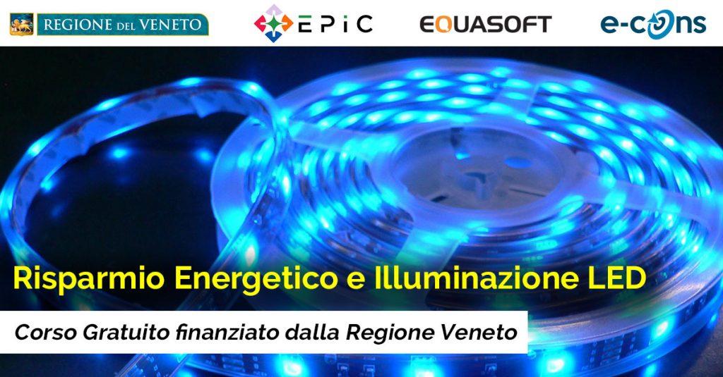 Lighting led technology risparmio energetico e for Risparmio energetico led