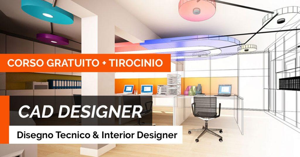 Corsi Design Di Interni.Cad Designer Corso Gratuito Tirocinio Retribuito A Treviso