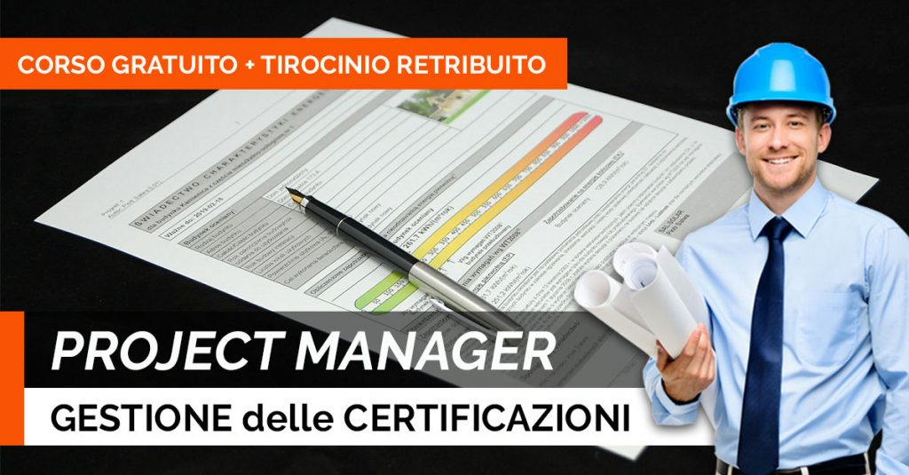 PROJECT-MANAGER-GESTIONE-CERTIFICAZIONI