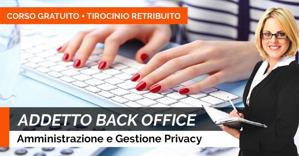 CORSO ADDETTO-BACK-OFFICE