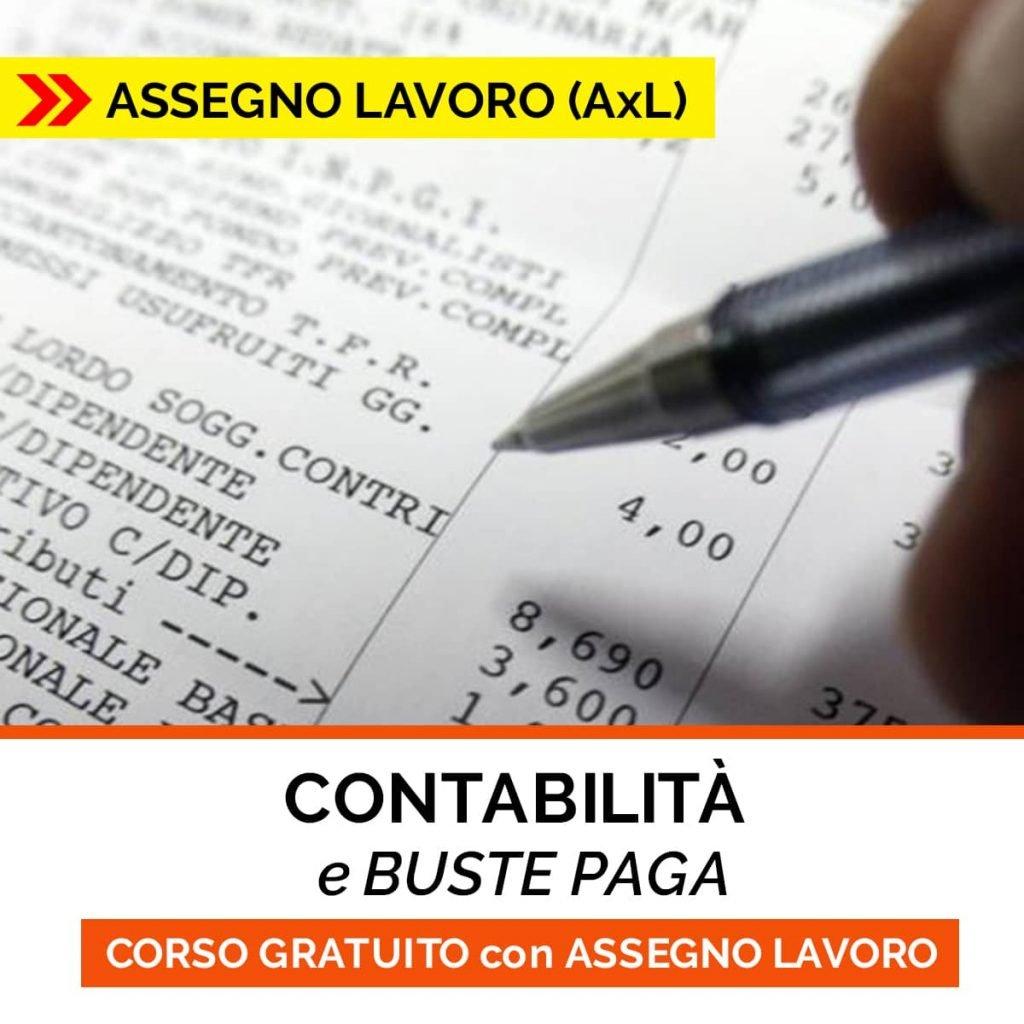 corso CONTABILITà BUSTE PAGA
