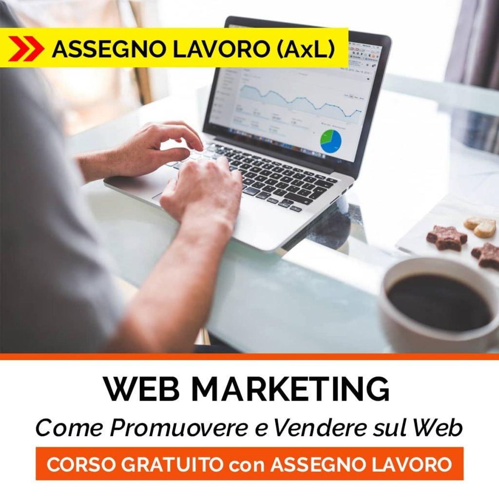 corso web marketing assegno lavoro