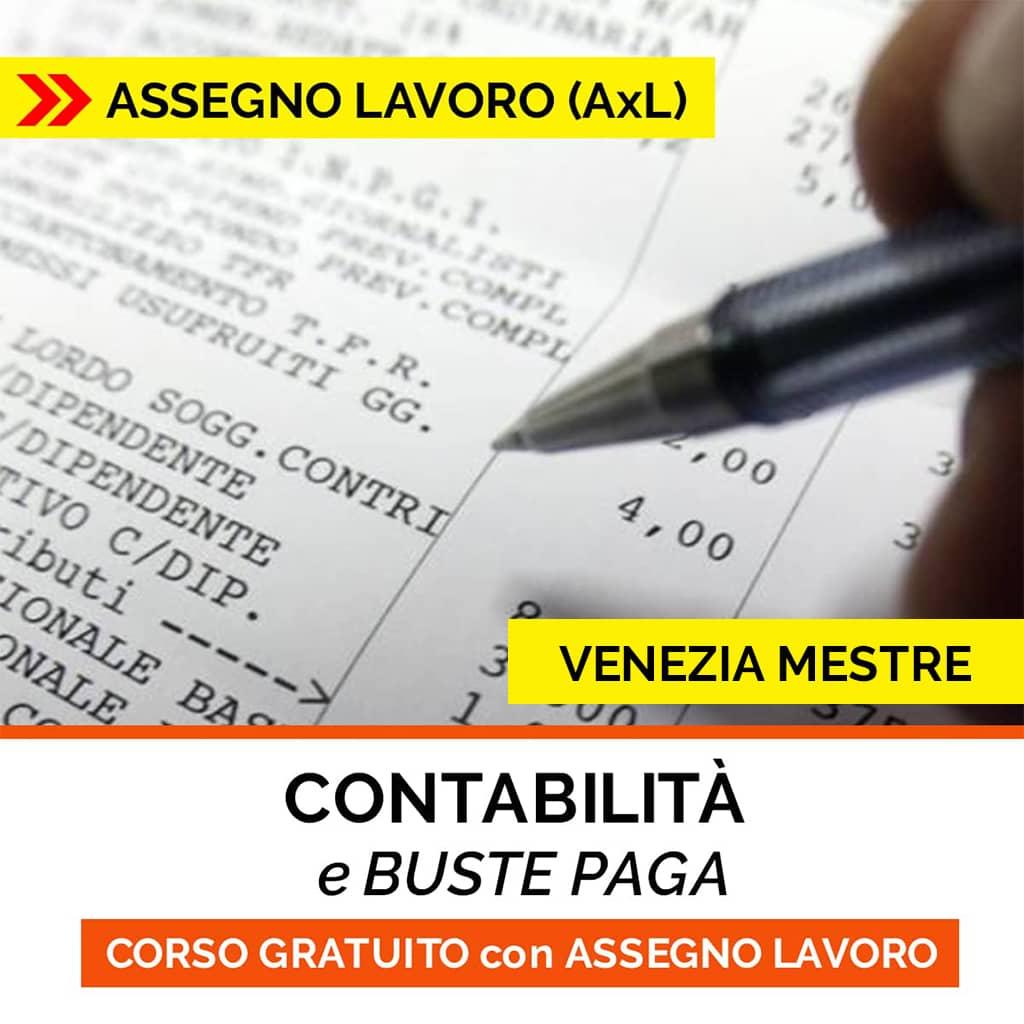 CORSO contabilita buste paga ISCO-ASSEGNO per il lavoro