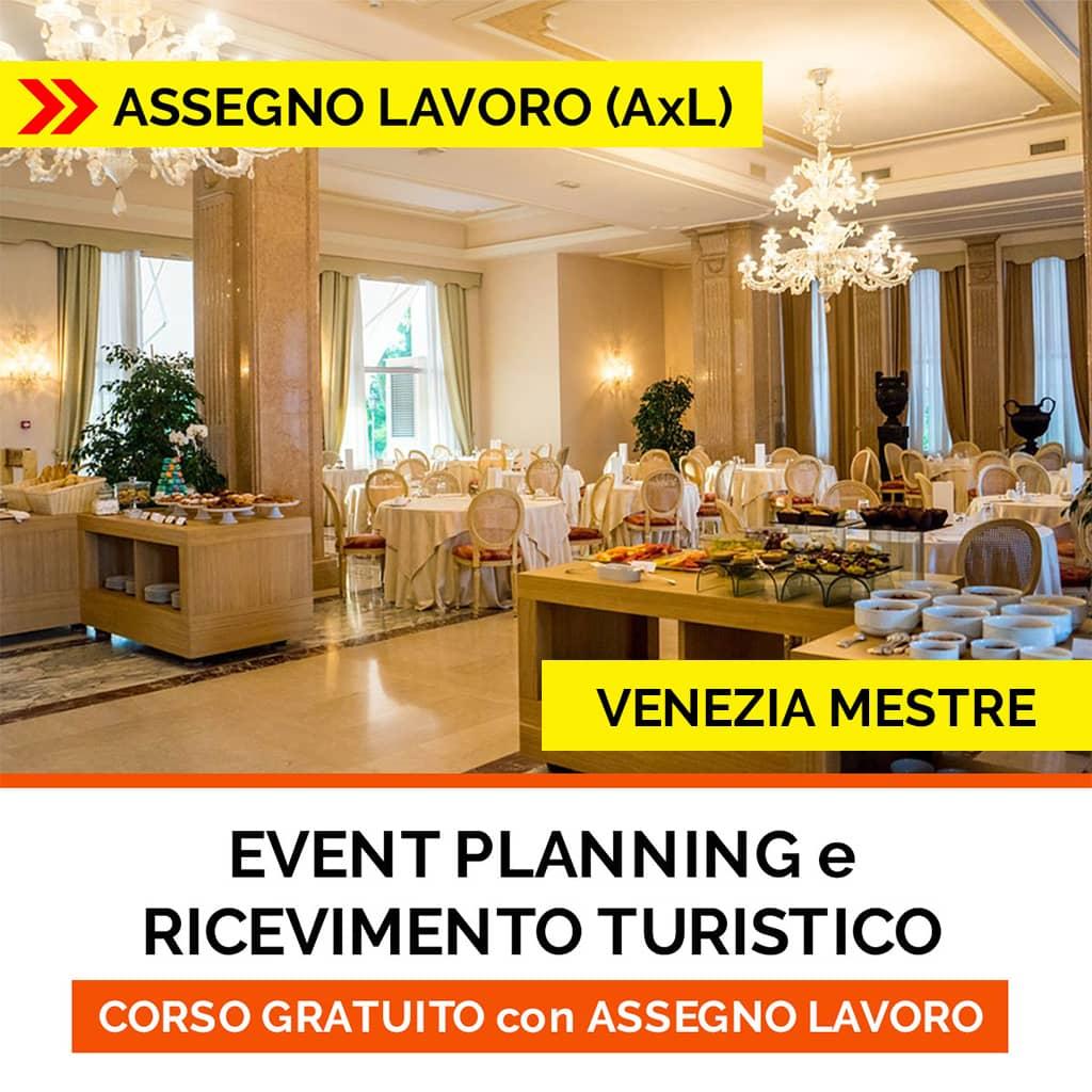 CORSO event planning ISCO-ASSEGNO per il lavoro