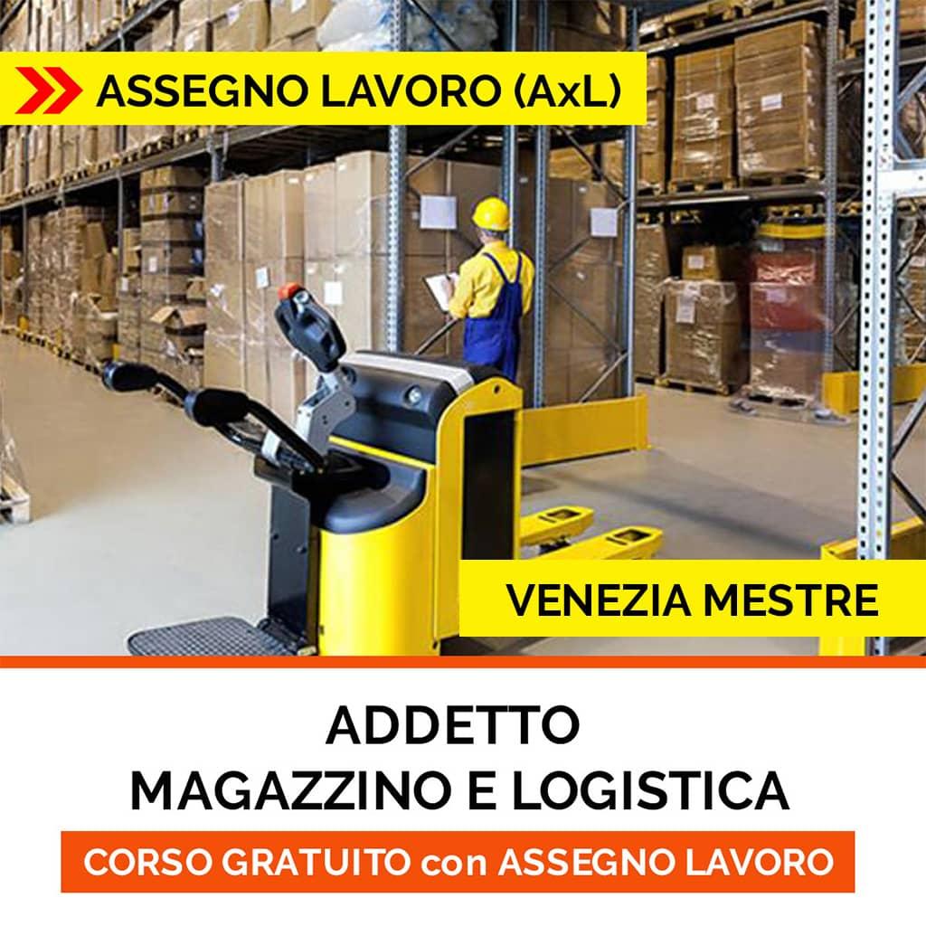 CORSO magazzino logistica ISCO-ASSEGNO per il lavoro