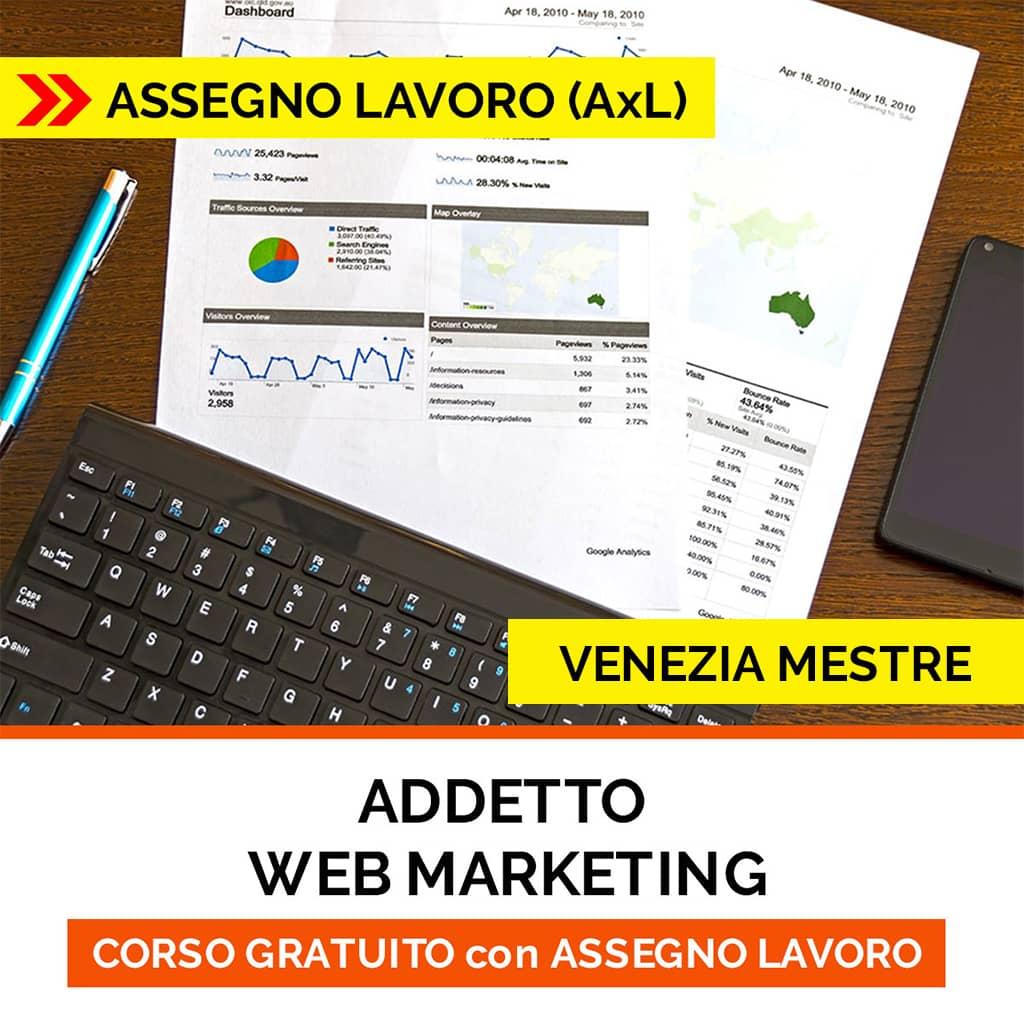 CORSO web marketing ISCO-ASSEGNO per il lavoro
