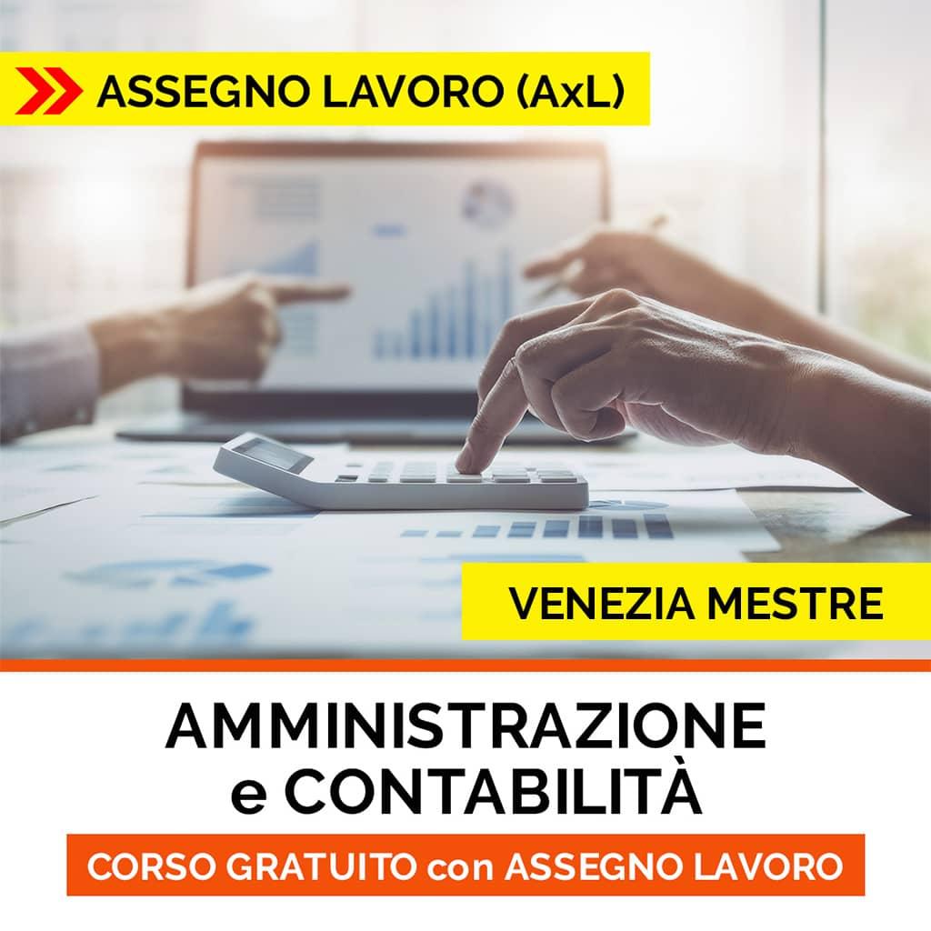 corso contabilità assegno per il lavoro venezia